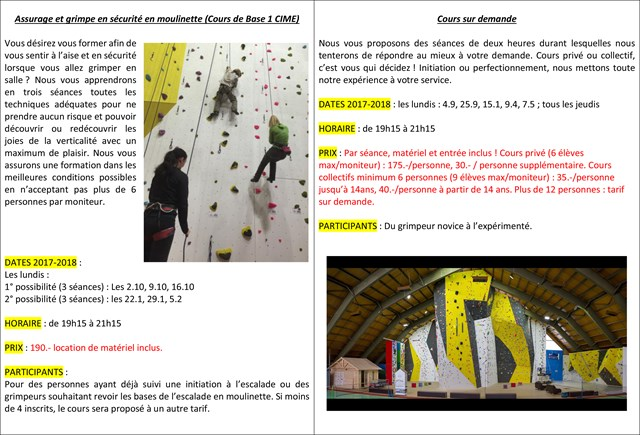 2017 Cours Escalade Adultes 2